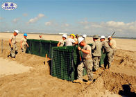 Hesco Defensive Welded Gabion Box Barrier 1x1x1M With Geotextile Cloth