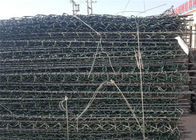 Hot Dipped Galvanized Double Twist Woven Steel Wire Mesh Gabion Cage Box